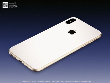 Bo anh moi nhat ve iPhone 8: Dep nhu mo, nhieu mau moi - Anh 1