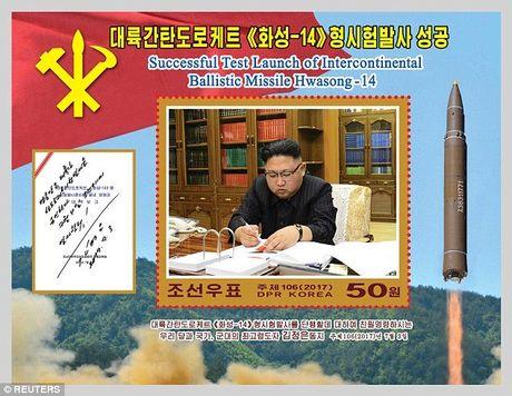 Bo tem dac biet mung phong ten lua cua Trieu Tien - Anh 1