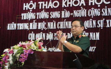 Hoi thao Thuong tuong Song Hao - Nguoi cong san kien trung, mau muc - Anh 1