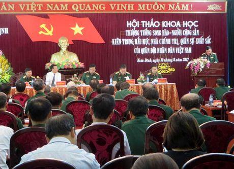 Hoi thao Thuong tuong Song Hao - Nguoi cong san kien trung, mau muc - Anh 2