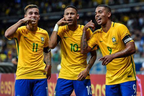 BXH FIFA thang 8: Brazil dan dau Top 10 DTQG manh nhat the gioi - Anh 11