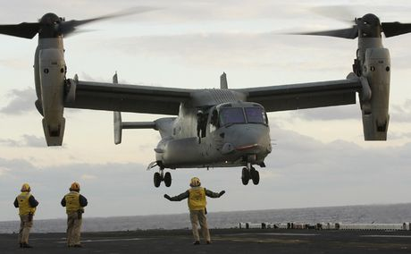 Kham pha suc manh 'chim ung bien' Boeing V-22 Osprey - Anh 1