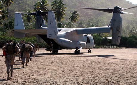 Kham pha suc manh 'chim ung bien' Boeing V-22 Osprey - Anh 4