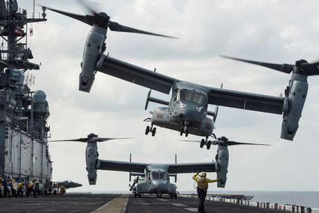 Kham pha suc manh 'chim ung bien' Boeing V-22 Osprey - Anh 5