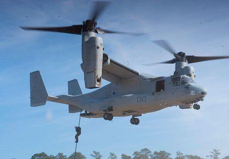 Kham pha suc manh 'chim ung bien' Boeing V-22 Osprey - Anh 9