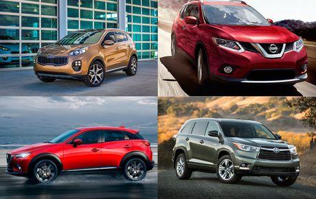 Top 10 xe ô tô đáng mua nhất cho người lần đầu sử dụng