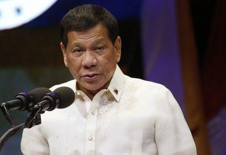 Tong thong Duterte the tu chuc neu con trai tham nhung - Anh 1