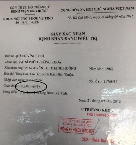 Nu cong nhan mac ung thu roi nuoc mat khi nhac den con trai tho dai - Anh 2