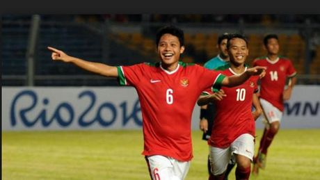 U.22 Indonesia chot doi hinh du SEA Games 29 - Anh 1