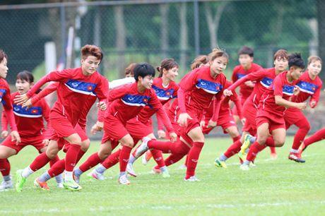 Tuyen nu Viet Nam dam mua 'luyen vang' SEA Games - Anh 2