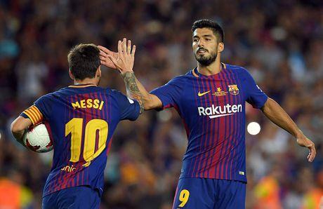 Sieu kinh dien Barca - Real: Suarez 'dien qua sau', fan trao 'giai Oscar an va' - Anh 1