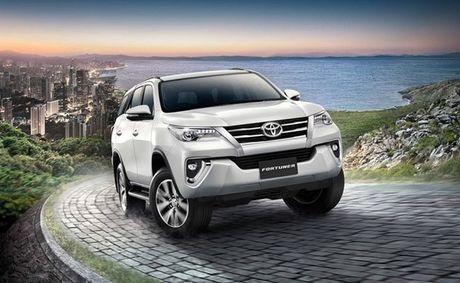 Toyota Fortuner 2017 ra doi phien ban moi nang cap, 2 cau gia chi co gia 846 trieu dong - Anh 1