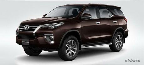 Toyota Fortuner 2017 ra doi phien ban moi nang cap, 2 cau gia chi co gia 846 trieu dong - Anh 2