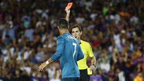 DIEM NHAN Barcelona 1-3 Real Madrid: Tran dau bi hai cua Ronaldo, Barca van nho Neymar - Anh 1