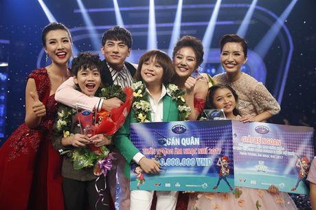 Sau khi len ngoi Quan quan 'Vietnam Idol Kids', Thien Khoi lai tiep tuc chien thang o chuong trinh truyen hinh - Anh 1