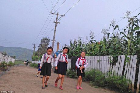 Tre em Trieu Tien tham nhuan tinh than quan su, tu tuong chong My - Anh 3