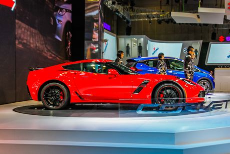 Can canh Chevrolet Corvette Grand Sport 2017 vua xuat hien o Viet Nam - Anh 4