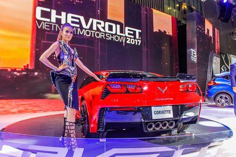 Can canh Chevrolet Corvette Grand Sport 2017 vua xuat hien o Viet Nam - Anh 5