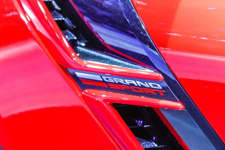 Can canh Chevrolet Corvette Grand Sport 2017 vua xuat hien o Viet Nam - Anh 6