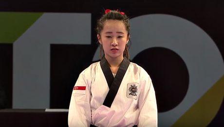 Nu vo si Taekwondo xinh dep gay sot o SEA Games 29 - Anh 1