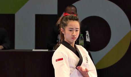 Nu vo si Taekwondo xinh dep gay sot o SEA Games 29 - Anh 2