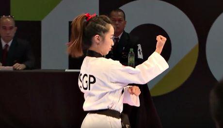Nu vo si Taekwondo xinh dep gay sot o SEA Games 29 - Anh 4