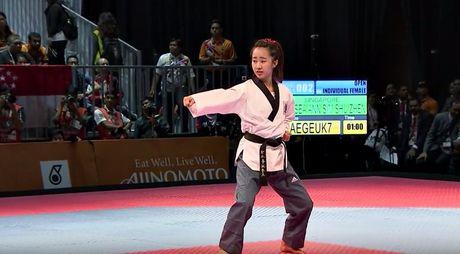 Nu vo si Taekwondo xinh dep gay sot o SEA Games 29 - Anh 6