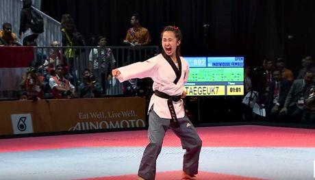 Nu vo si Taekwondo xinh dep gay sot o SEA Games 29 - Anh 7