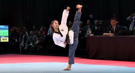 Nu vo si Taekwondo xinh dep gay sot o SEA Games 29 - Anh 8