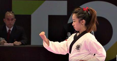 Nu vo si Taekwondo xinh dep gay sot o SEA Games 29 - Anh 9