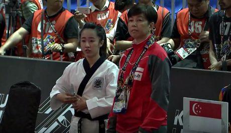Nu vo si Taekwondo xinh dep gay sot o SEA Games 29 - Anh 10