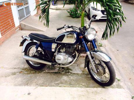 Hang hiem Yamaha YD250 'doi thu' Honda CD Benley tai VN - Anh 1