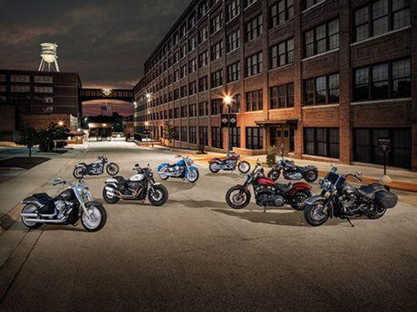 Moto Harley-Davidson Softail 2018 ra mắt chốt giá bán