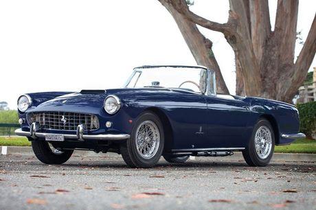 Dan sieu xe Ferrari 'hang hiem' tai buoi dau gia Monterey - Anh 5