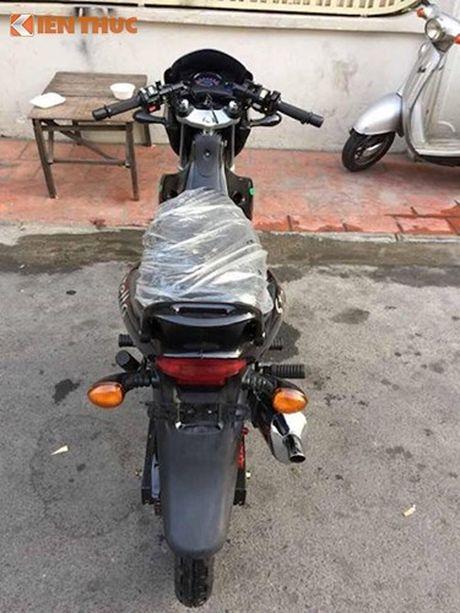 'Dap thung' xe may Cagiva Stella doi 9x tai Viet Nam - Anh 11