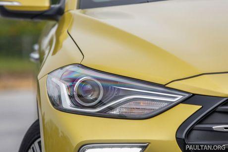 Hyundai Elantra Sport 1.6 Turbo 2017 gia 700 trieu co gi dac biet? - Anh 11