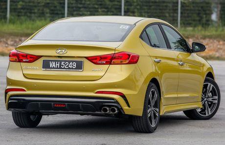Hyundai Elantra Sport 1.6 Turbo 2017 gia 700 trieu co gi dac biet? - Anh 4