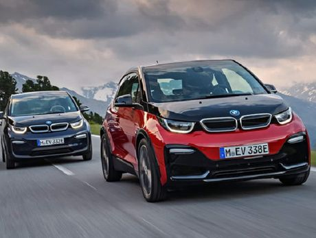 BMW i3S 2018 trinh lang voi thiet ke moi me, dong co cai tien - Anh 2