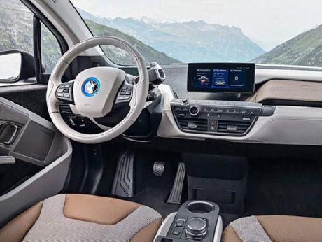 BMW i3S 2018 trinh lang voi thiet ke moi me, dong co cai tien - Anh 3