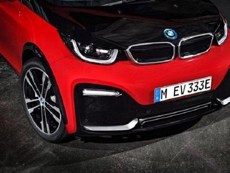 BMW i3S 2018 trinh lang voi thiet ke moi me, dong co cai tien - Anh 7