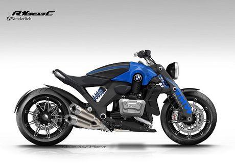 Xem trước MOTO khủng  BMW R 1600 C Concept