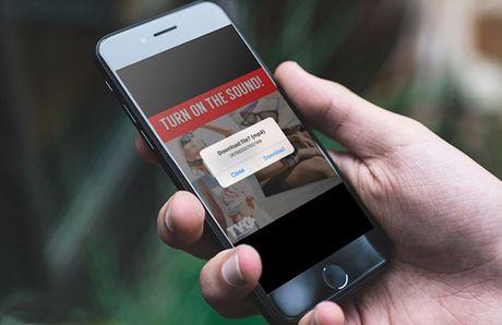 Lam the nao de tai video hay tren Facebook bang iPhone - Anh 1