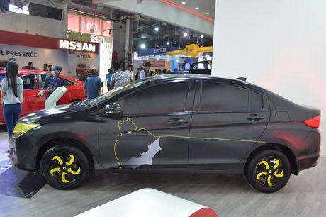 Sedan Honda City phien ban 'xe doi' day chat choi - Anh 1