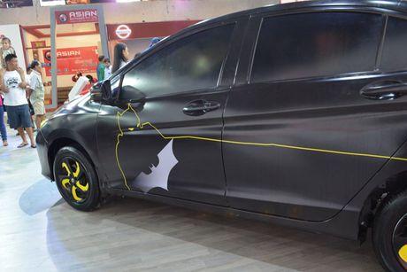 Sedan Honda City phien ban 'xe doi' day chat choi - Anh 7