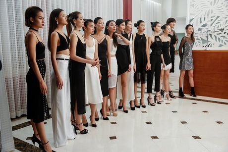 Gu thoi trang dang thuong cua Lai Thanh Huong tai Next Top Model - Anh 2