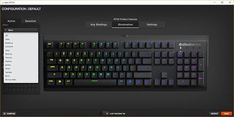 Can canh ban phim co SteelSeries Apex M750 - Anh 8
