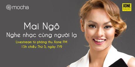 Mai Ngo livestream 'Nghe nhac cung nguoi la' de tim ban - Anh 1