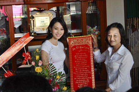Choang voi can ho cua Hoa hau Dang Thu Thao truoc khi ket hon voi doanh nhan Trung Tin - Anh 1