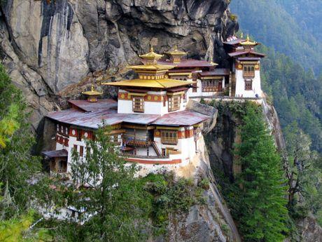 Den tham Bhutan - dat nuoc hanh phuc nhat the gioi - Anh 1