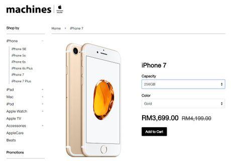 Gia cac mau iPhone cu se giam? - Anh 1